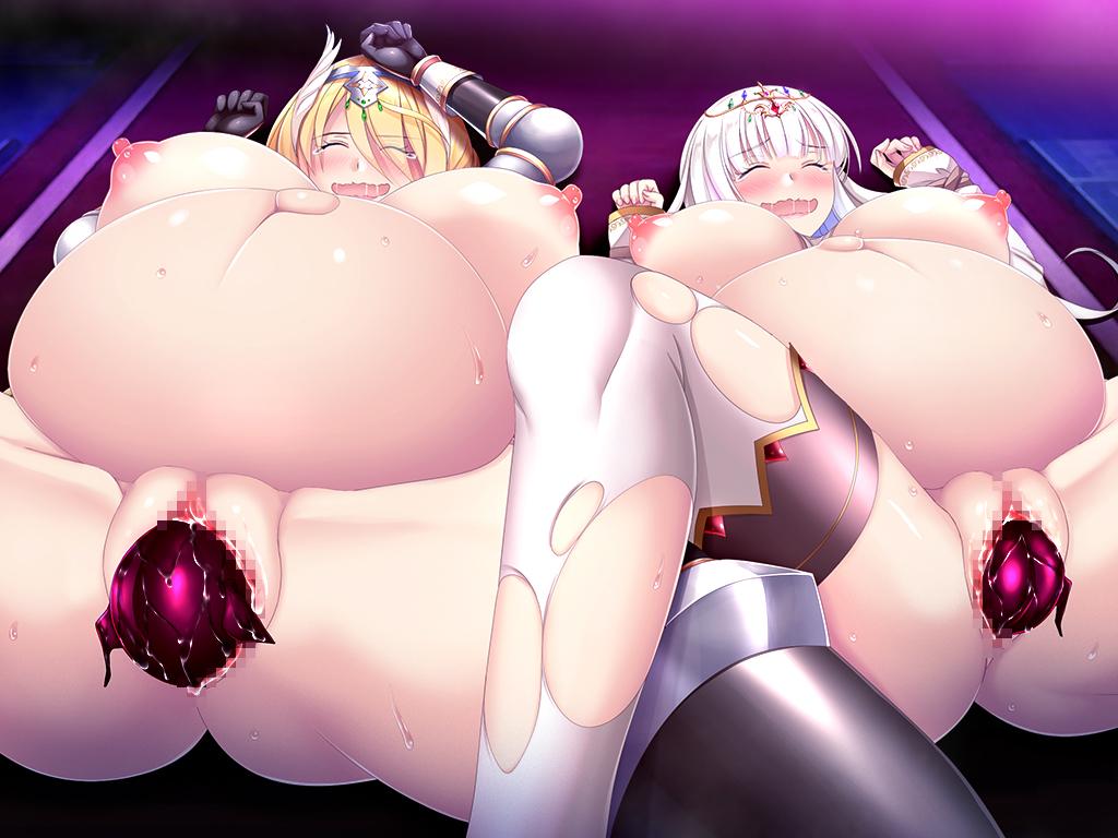淫獄の姫騎士姉妹 オークの家畜苗床 オナニーボイスドラマ付きのサンプル画像11