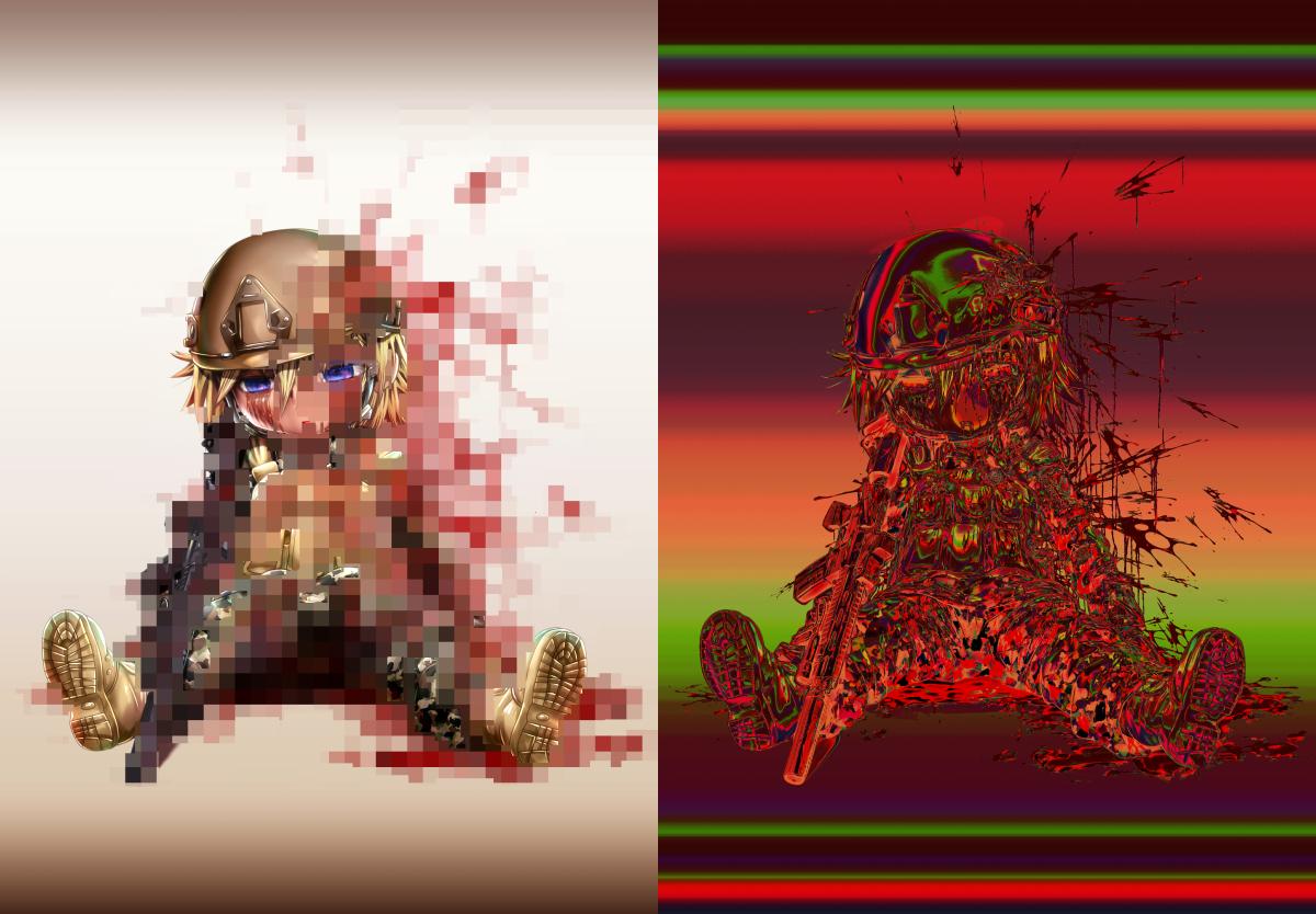 「少女兵」01 & 02 Packのサンプル画像2
