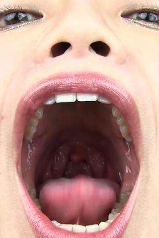 激臭!迫力の口臭嗅がせのサンプル画像1