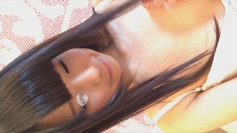 【自画撮りオナニー】個人撮影♥推定18歳♥普段は学生さん💛おぼこい少女ちゃん照れ照れオナニー💛のサンプル画像1