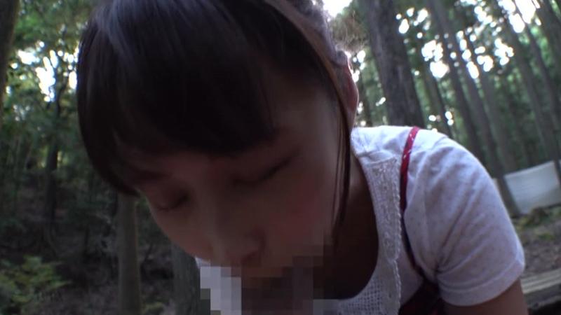 自然教室日焼け美少女わいせつ映像のサンプル画像6