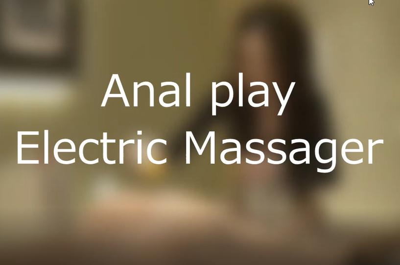 電気マッサージ器でのアナル前立腺責めのサンプル画像2