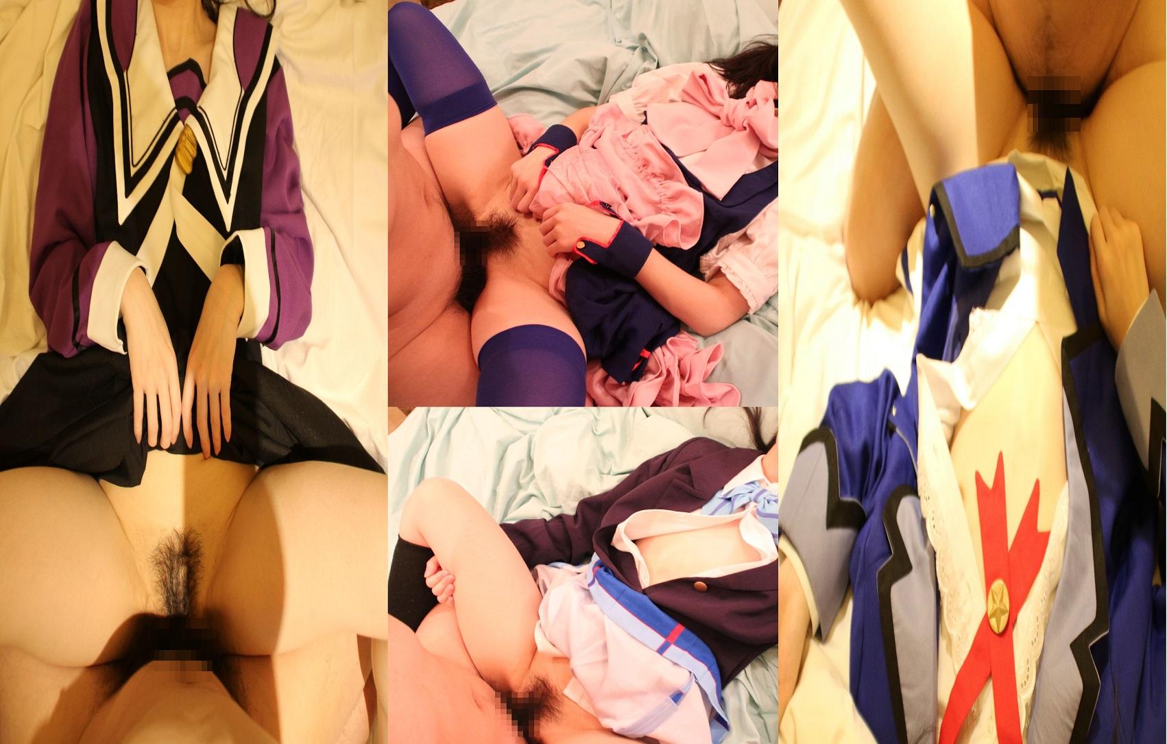 貧乳だけどコスプレしたかったのでついでにハメ撮りしてみた・りかのサンプル画像3