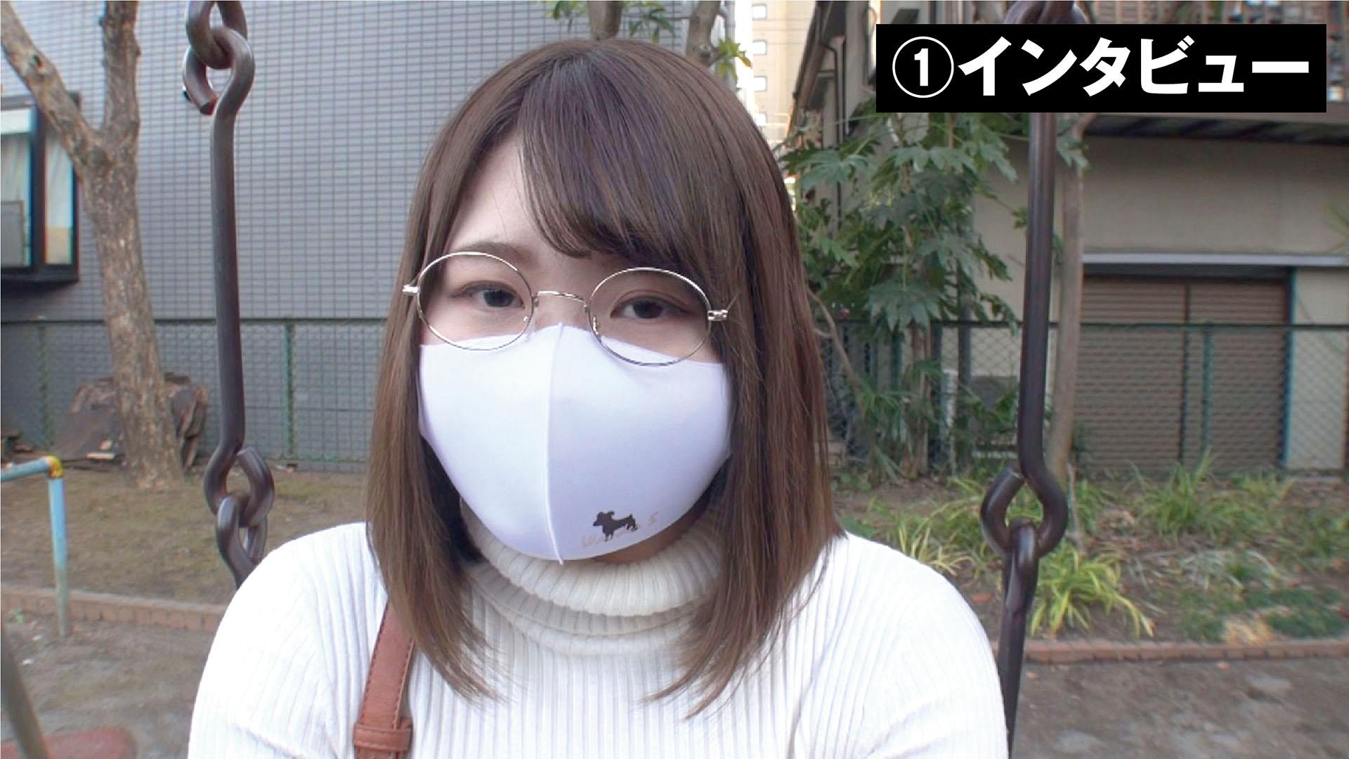 鳥取から上京した地味芋デカ乳女子まり 大学入学日にAVデビューのサンプル画像1