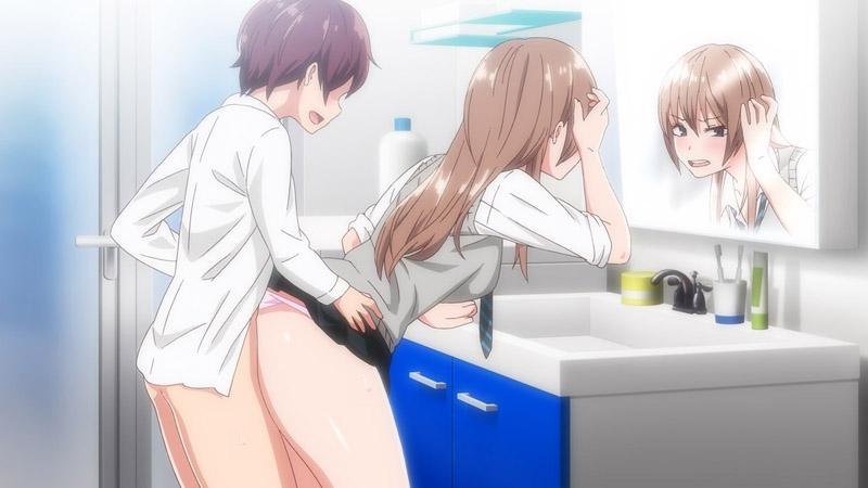OVA ウチの弟マジでデカイんだけど見にこない?#2 てかコイツのチ〇コ気持ちよすぎてヤバいんだけどWのサンプル画像3