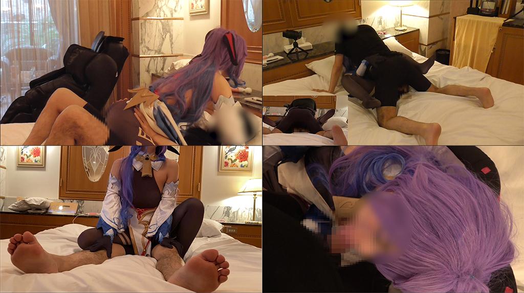 【UGYS 09】美肌コスプレイヤーさんに原〇 甘〇コスで中出しのサンプル画像3