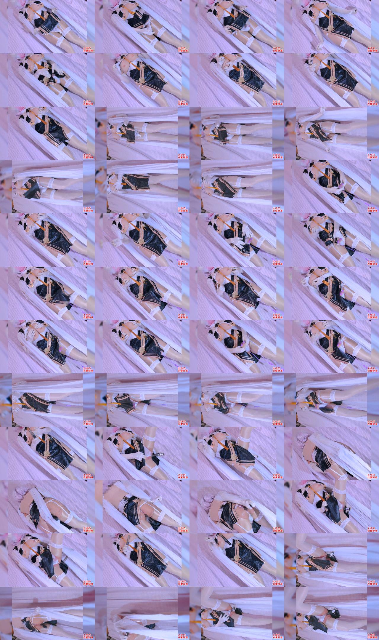 Gカップ巨乳男の娘おちんちんフリフリ・ディルドオナニー [アズー〇レーン・シリ〇ス]のサンプル画像2